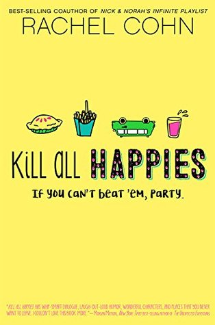 Kill All Happies by Rachel Cohn thumbnail