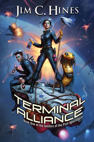 book cover: Terminal Alliance by Jim C. Hines