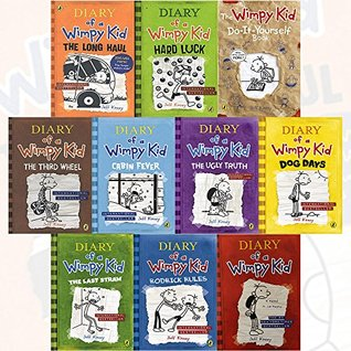 Diary of a wimpy kid collection 10 books bundle by jeff kinney 35112547 solutioingenieria Gallery