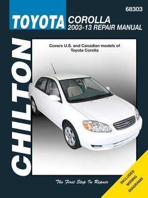 Toyota Corolla, 2003-13: Does not include information specific to XRS models