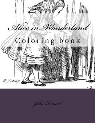 Alice in Wonderland: Coloring Book