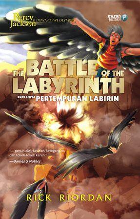 Pertempuran Labirin by Rick Riordan