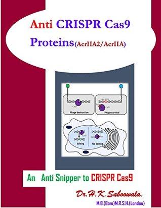 """""""Anti -CRISPR Cas9 (Proteins AcrIIA2 and AcrIIA4)"""": """"An Anti Snipper To CRISPR Cas9"""""""