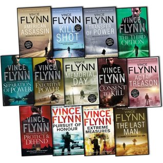 Vince Flynn Mitch Rapp 13 Books Collection Pack Set