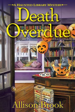 book cover: Death Overdue by Allison Brook