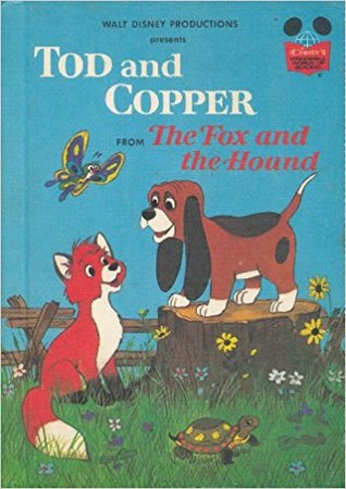 "Tod and Copper from ""The Fox and the Hound"""