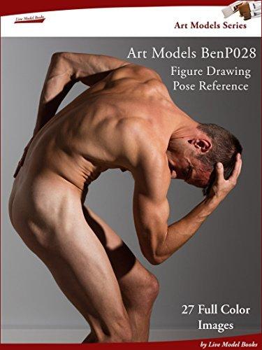 Art Models BenP028: Figure Drawing Pose Reference