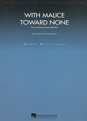 With Malice Toward None (from Lincoln): Trumpet Solo with Piano Reduction