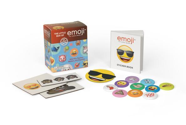 The Little Box of emoji: With Pins, Patch, Stickers, and Magnets!