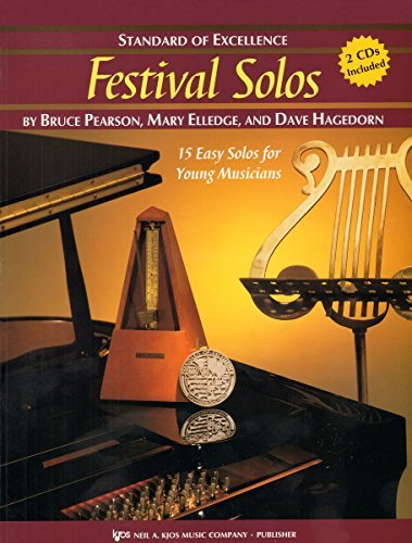 W28XE - Standard of Excellence - Festival Solos Book/CD - Alto Saxophone
