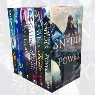 Avry of Kazan &  Chronicles of Ixia set 6 books (Touch of Power/ Scent of Magic / Taste of Darkness / Spy Glass / Shadow Study / Sea Glass
