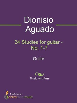 24 Studies for guitar - No. 1-7 - Guitar