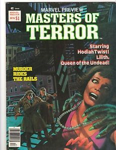 Marvel Preview #16: Masters of Terror