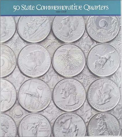 50 State Commemorative Quarters Map Folder