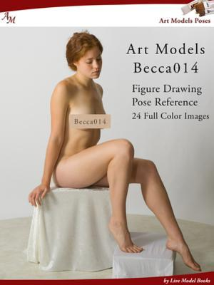 Art Models Becca014: Figure Drawing Pose Reference
