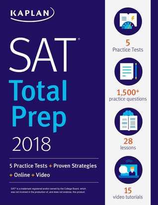 SAT: Total Prep 2018: 5 Practice Tests + Proven Strategies + Online + Video