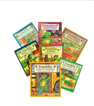 Franklin the Turtle Books (7) : Hurry up Franklin - Franklin & the Hero - Franklin Fibs - Franklin's Class Trip - Franklin Has a Sleep Over - Franklin's Thanksgiving - Franklin Goes to School (Book Sets for Kids : Storybook Collection)