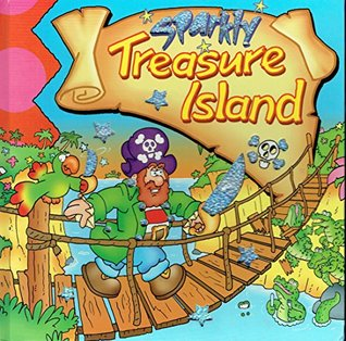 Large Sparkly Books - Treasure Island
