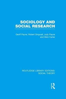 Sociology and Social Research
