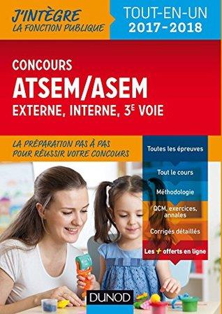 Concours ATSEM/ASEM - 2017-2018 : interne et 3e voie, Ville de Paris