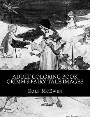 Adult Coloring Book - Grimm's Fairy Tale Images