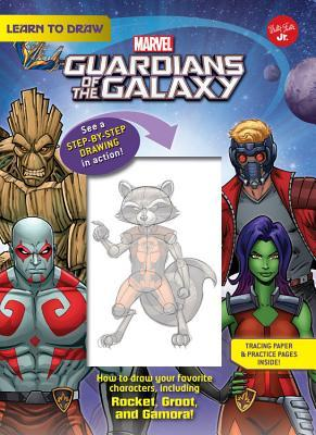 Learn to Draw Marvel Guardians of the Galaxy: How to draw your favorite characters, including Rocket, Groot, and Gamora!