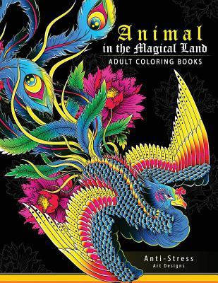 Animal in the Magical Land (Adult Coloring Book): Mythical Animals Phoenix, Mermaids, Pegasus, Unicorn and Friend