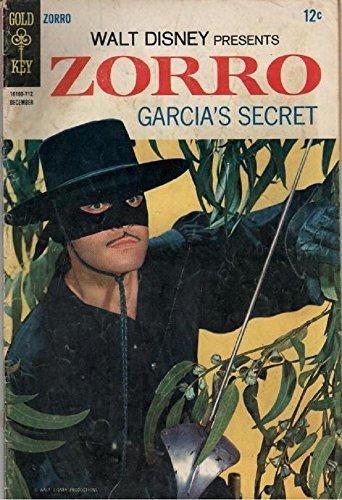 Zorro Comic Book # 8 : Garcia's Secret