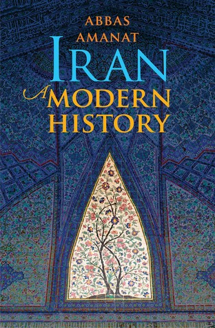 Book cover of traditional Iranian art.