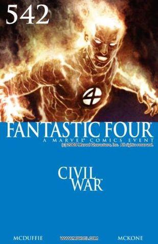 Fantastic Four #542