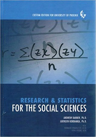 Research & Statistics For The Social Sciences