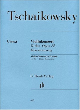 Violin Concerto Op. 35 op. 35 - Violin and Orchestra - piano reduction with solo part - (HN 685)