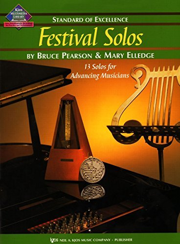 W39XE - Standard of Excellence - Festival Solos Book 3 - Alto Saxophone