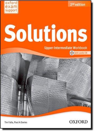 Solutions: Upper-Intermediate: Workbook and Audio CD Pack