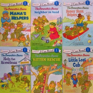 I Can Read Berenstain Bears - 6 Book Set