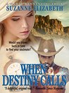 WHEN DESTINY CALLS: A Western Time Travel Romance (The Destiny Series Book 1)