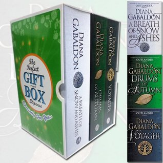 Outlander Series Collection By Diana Gabaldon 3 Books Bundle Gift Wrapped Slipcase Specially For You