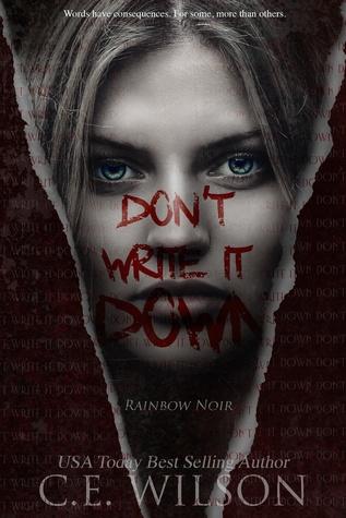 Don't Write it Down (Rainbow Noir, #1)