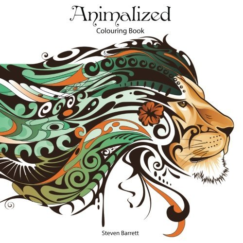 Animalized: Advanced Colouring Book