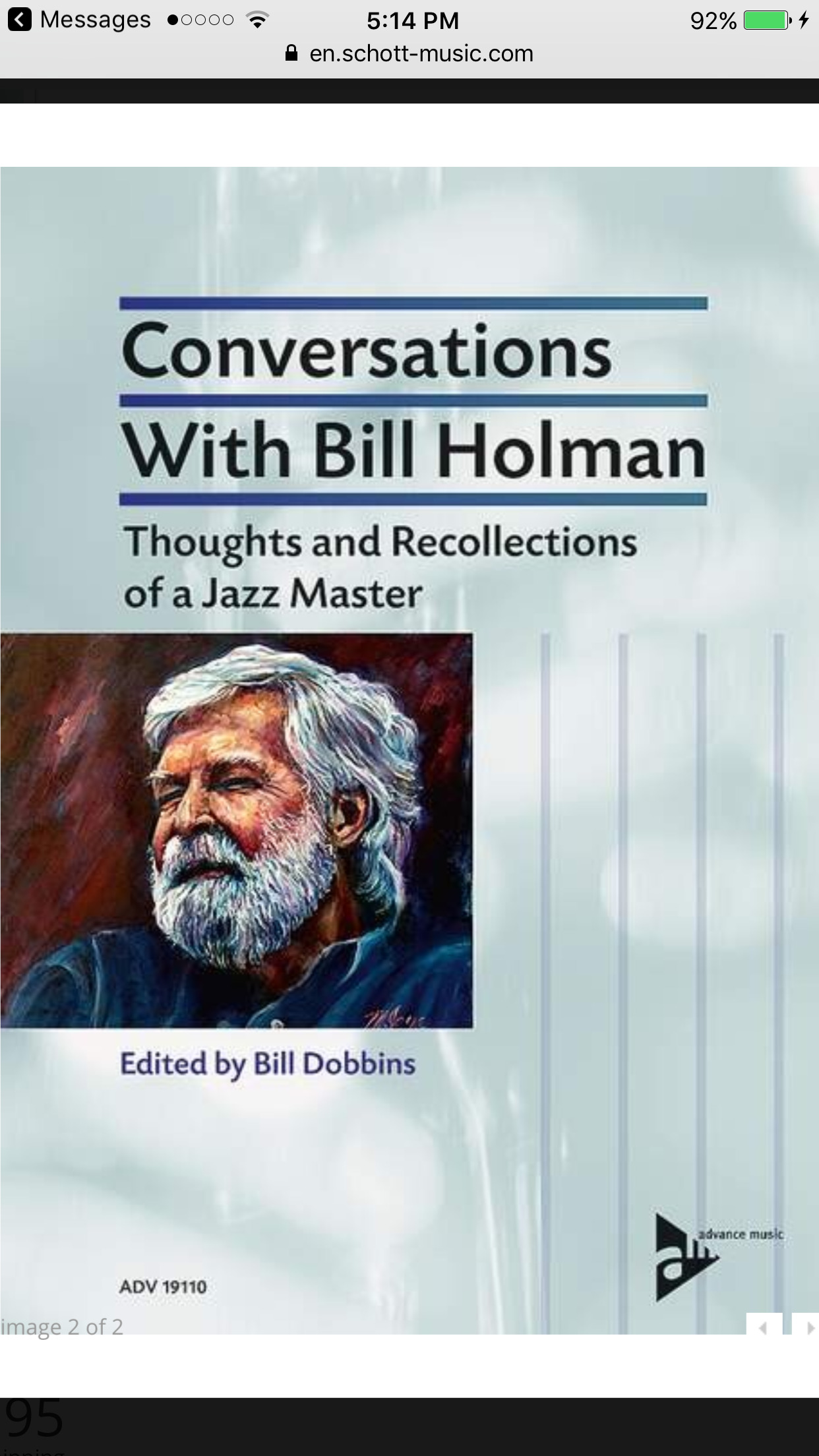 Conversations With Bill Holman, Thoughts and Recollections of a Jazz Master