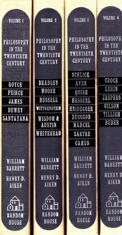 Philosophy in the Twentieth Century: An Anthology (4 Volumes)