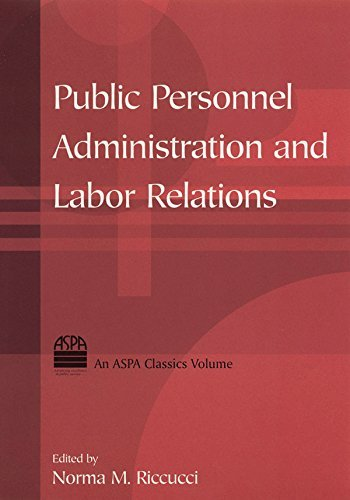 Public Personnel Administration and Labor Relations (ASPA Classics