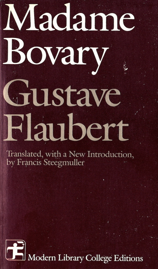 Madame Bovary: Patterns of Provincial Life