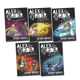 Alex Rider: The Graphic Novels Boxed Set, #1-5 (Alex Rider: The Graphic Novels, #1-5)