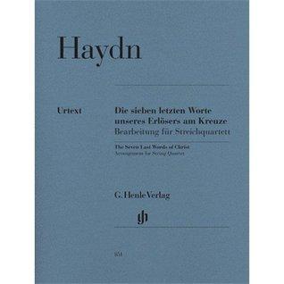 HENLE VERLAG HAYDN J. - THE SEVEN LAST WORDS OF CHRIST Classical sheets String ensemble
