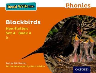 Read Write Inc. Phonics: Orange Set 4 Non-Fiction 4 Blackbirds