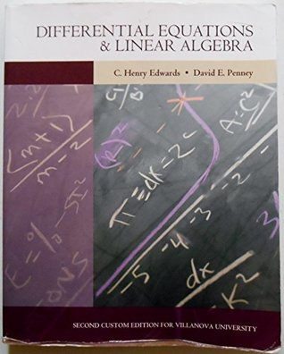 Differential Equations & Linear Algebra [2nd Custom Edition for Villanova]