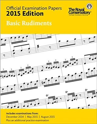 EX1501 - Official Examination Papers: Basic Rudiments 2015 Edition