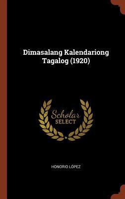 Dimasalang Kalendariong Tagalog (1920)