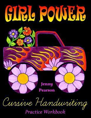 Girl Power Cursive Handwriting Practice Workbook